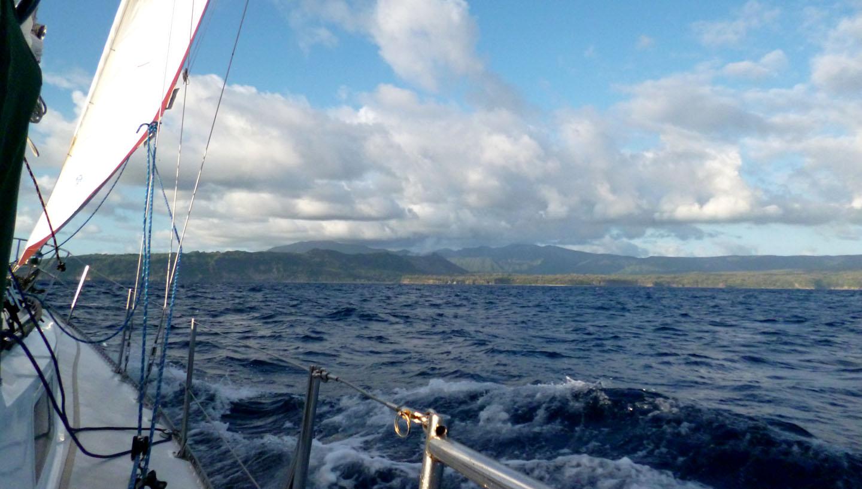 Sailing Towards Tanna