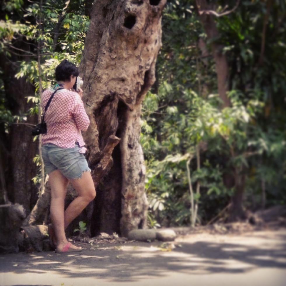 Photographer in Vanuatu