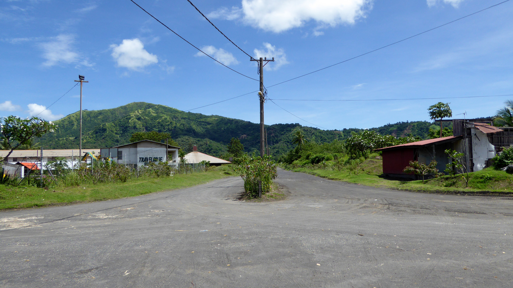 Dusty Street of Old Rabaul