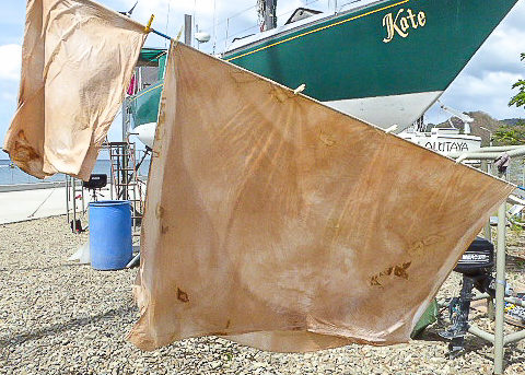 Less is More: Bedsheets for Boats and Natural Dyes