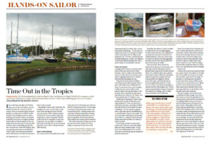 Tropical Storage article, Cruising World
