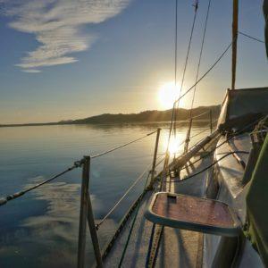Sunrise over Calauit Islands