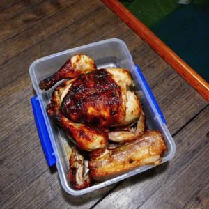Roasted Chicken and Liempo