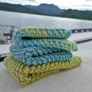 Knitted Dish Clothes